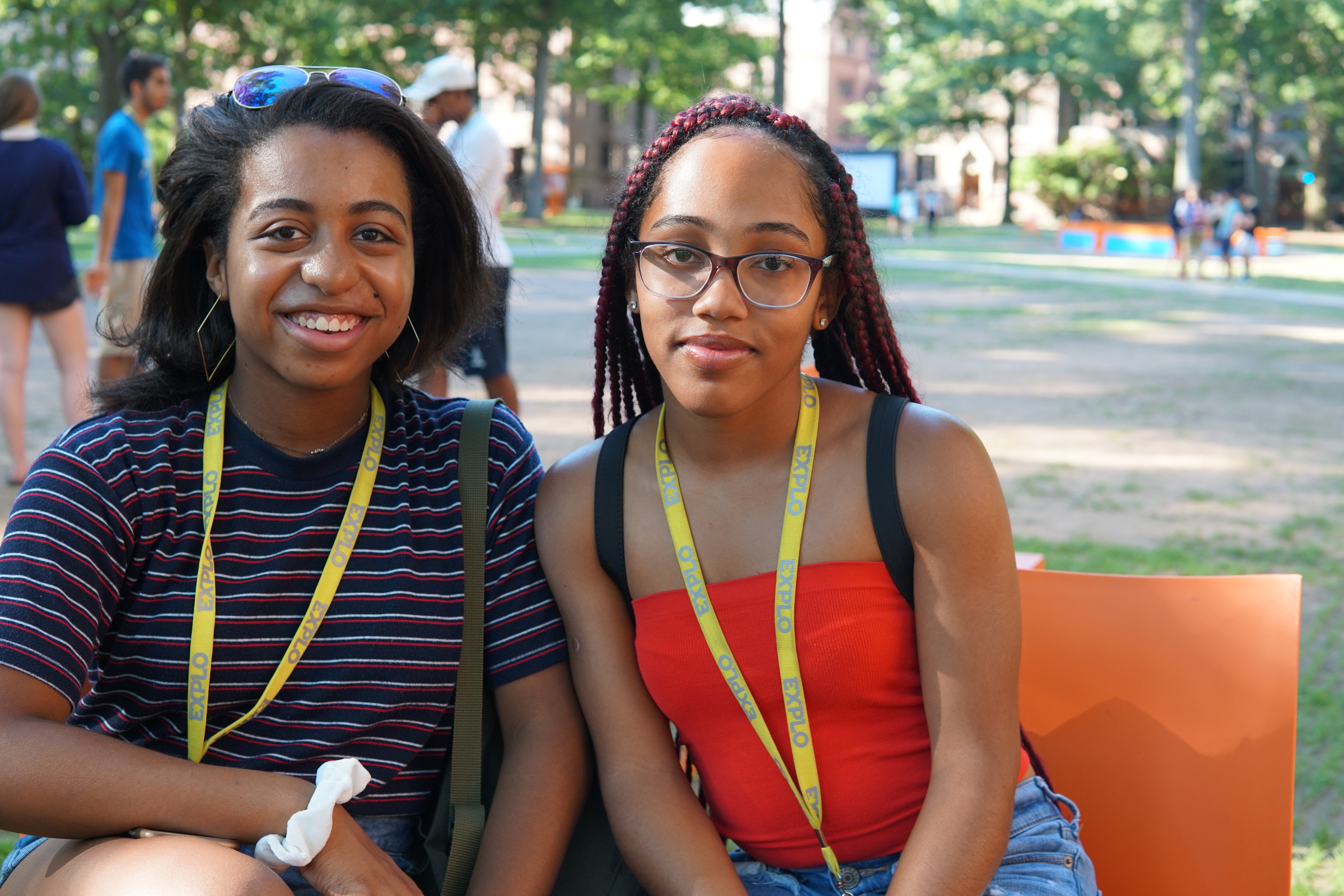 Meet Simone from Maryland and Gabby from Missouri