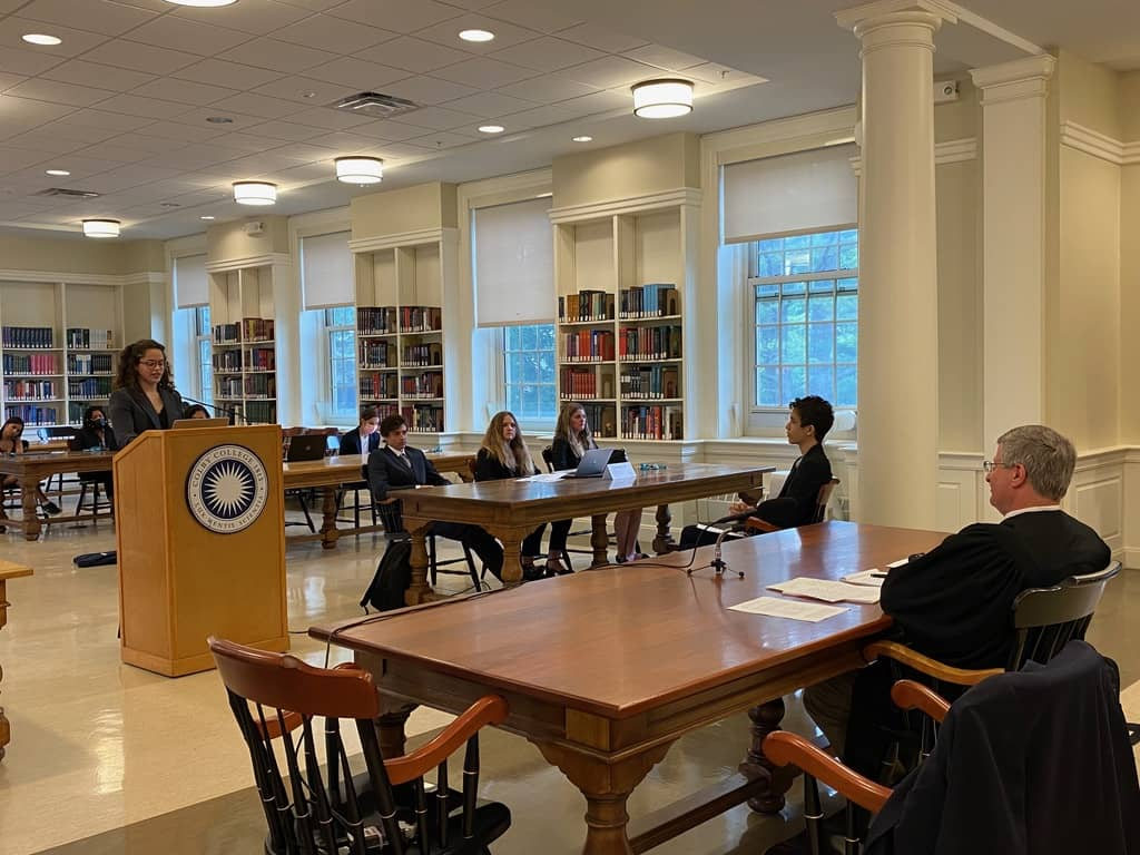 Trial Law + The American Justice System: Mock Trial