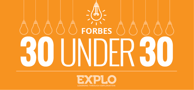 EXPLO Alumni, Former Staff Earn Forbes + TIME Magazine Honors