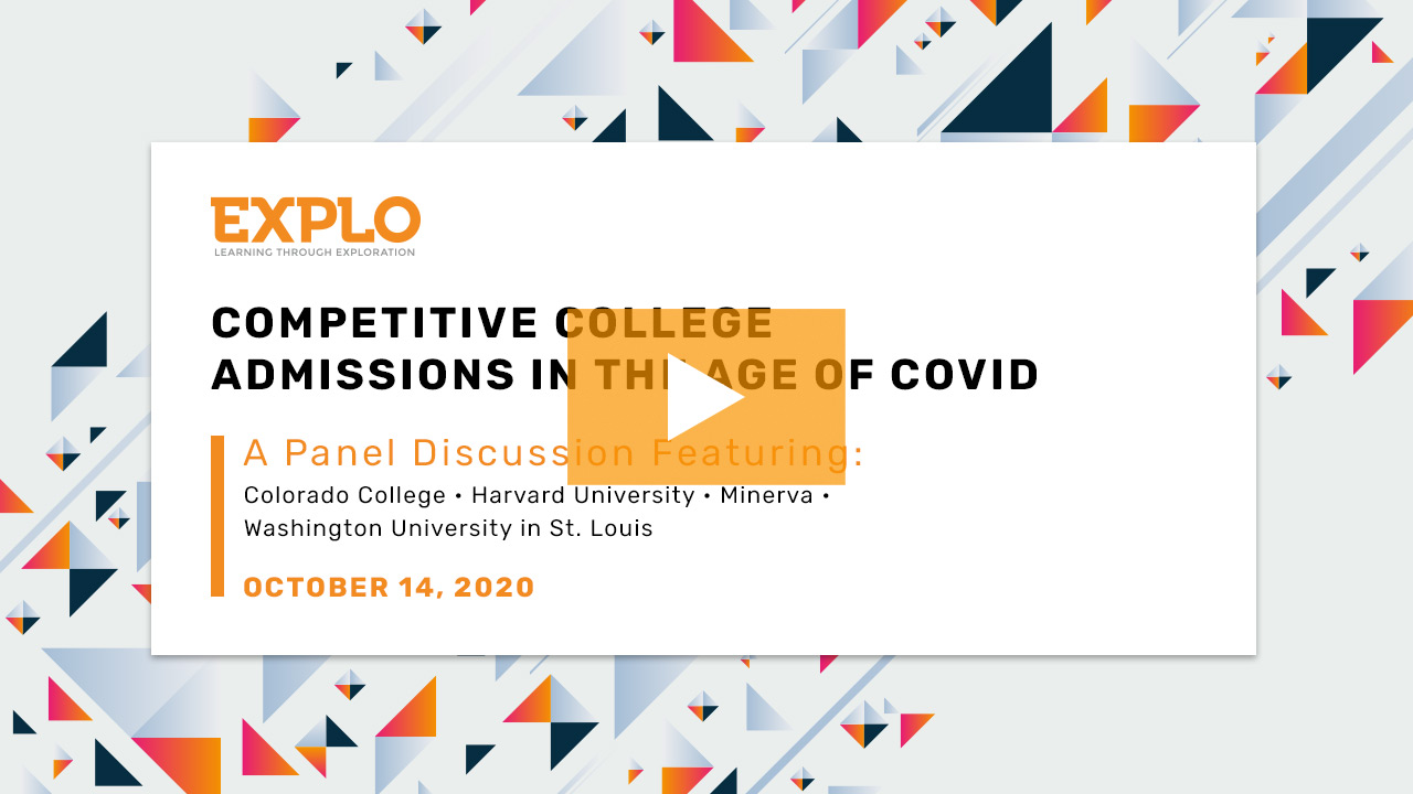 College Applications During COVID-19: It's All About Context