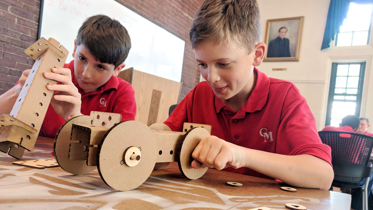 At Catholic Memorial School, Critical Making Prepares Kids For A Future Not Yet Invented