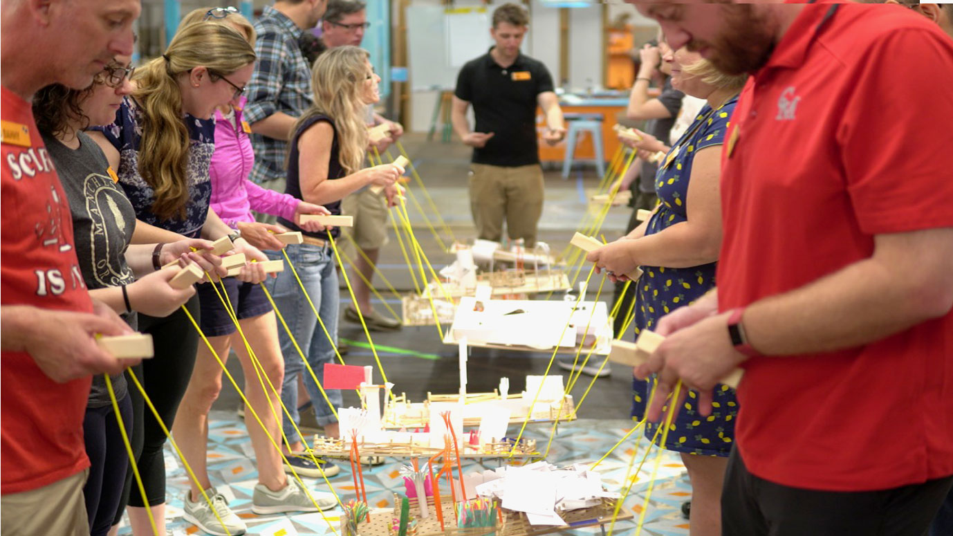 Transformative Teaching and Learning: Critical Making Camp for Educators