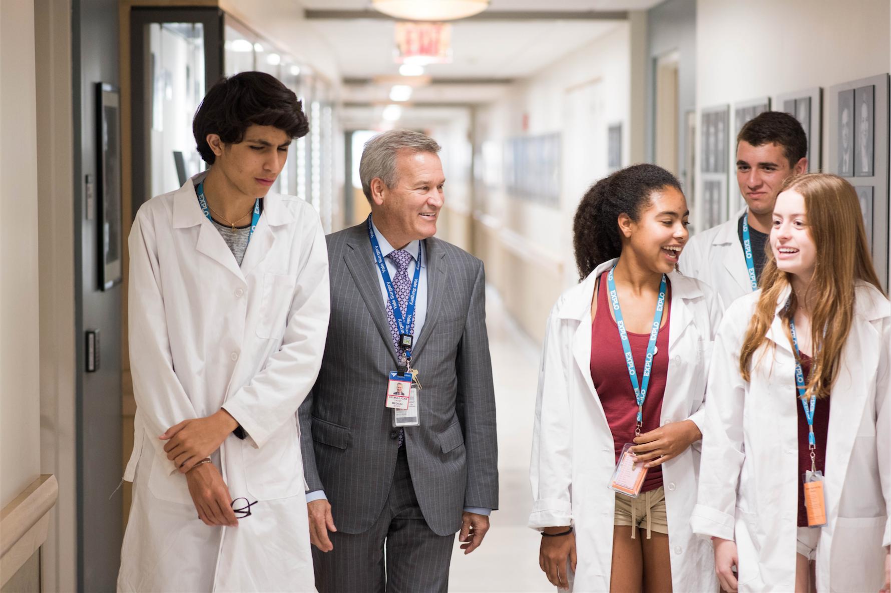 The Future of Medicine is at EXPLO: International Leader in Transplantation and Immunology David Mulligan, M.D.