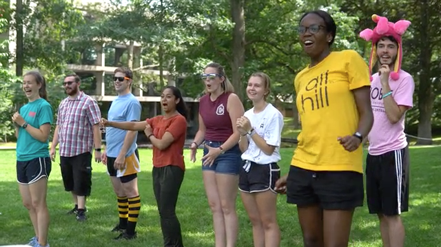 [VIDEO] Students vs. Staff Kickball