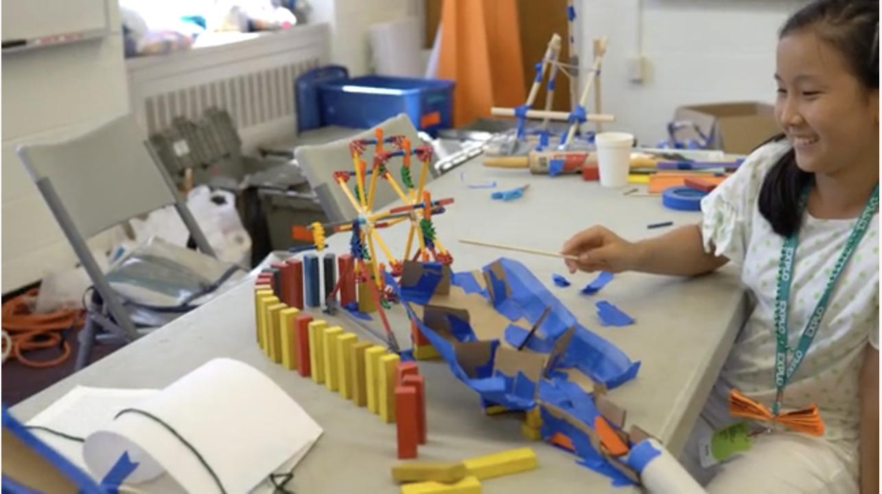[VIDEO] Creativity Challenges: Rube Goldberg Machine