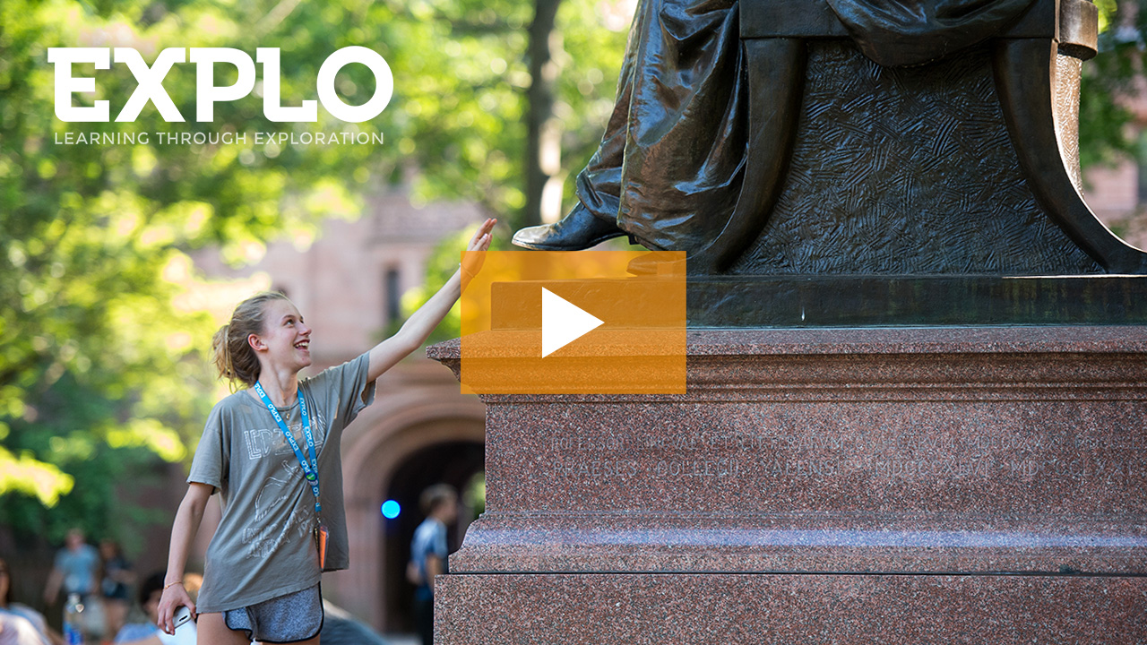 EXPLO at Yale: Watch the 2019 Online Info Meeting