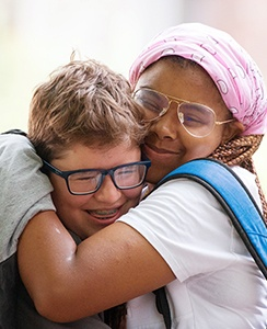 Two students form a lasting friendship through shared interests during three weeks at EXPLO