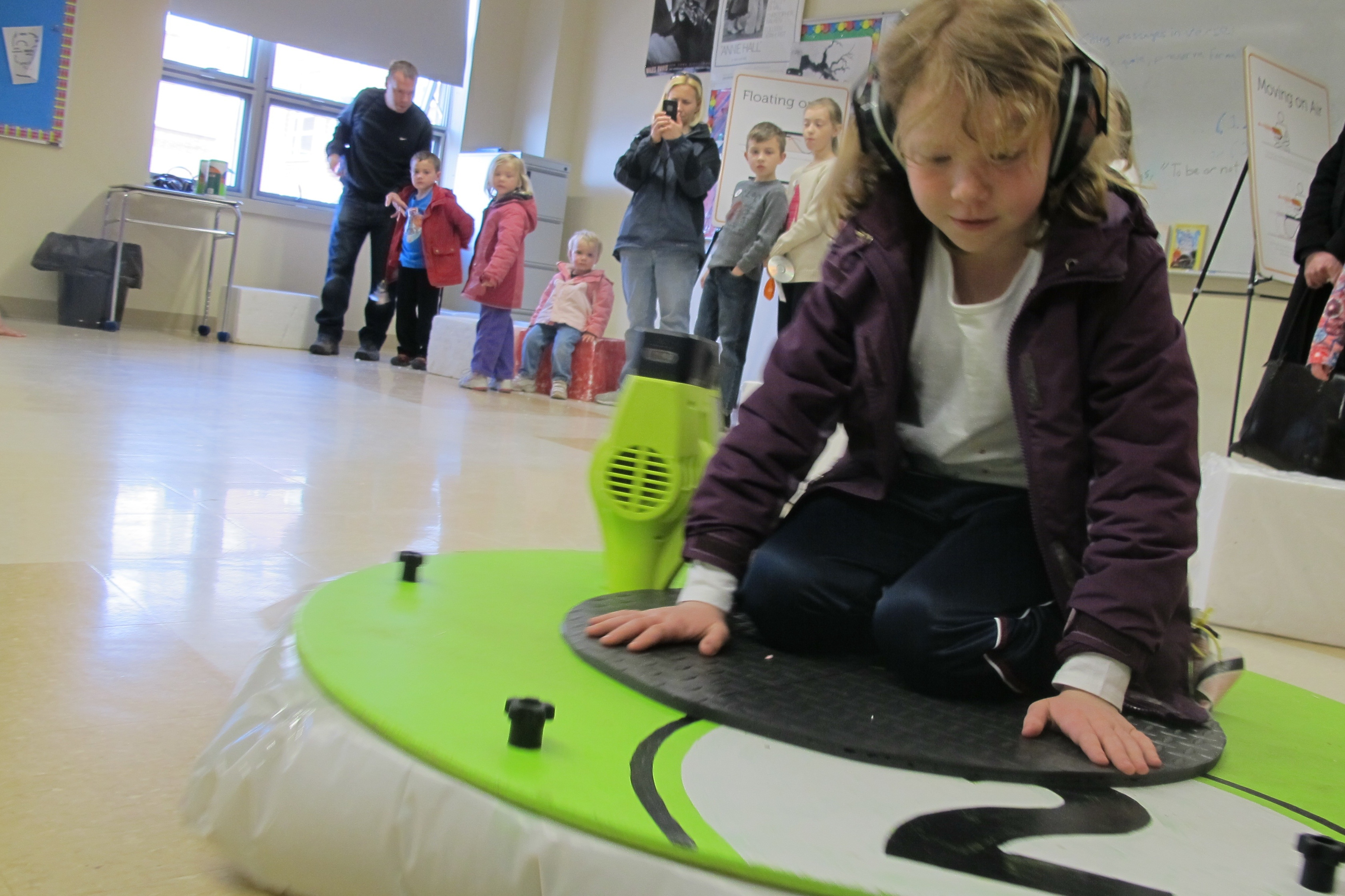 Let's Go for a Ride: Levitating + Learning at the Science Expo