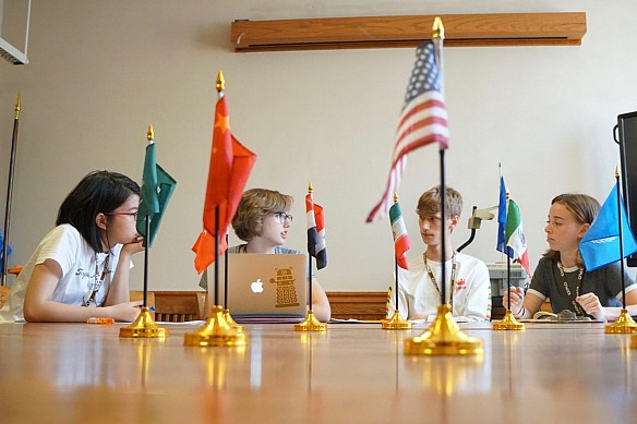 Foreign Affairs Focus Program, Day 1