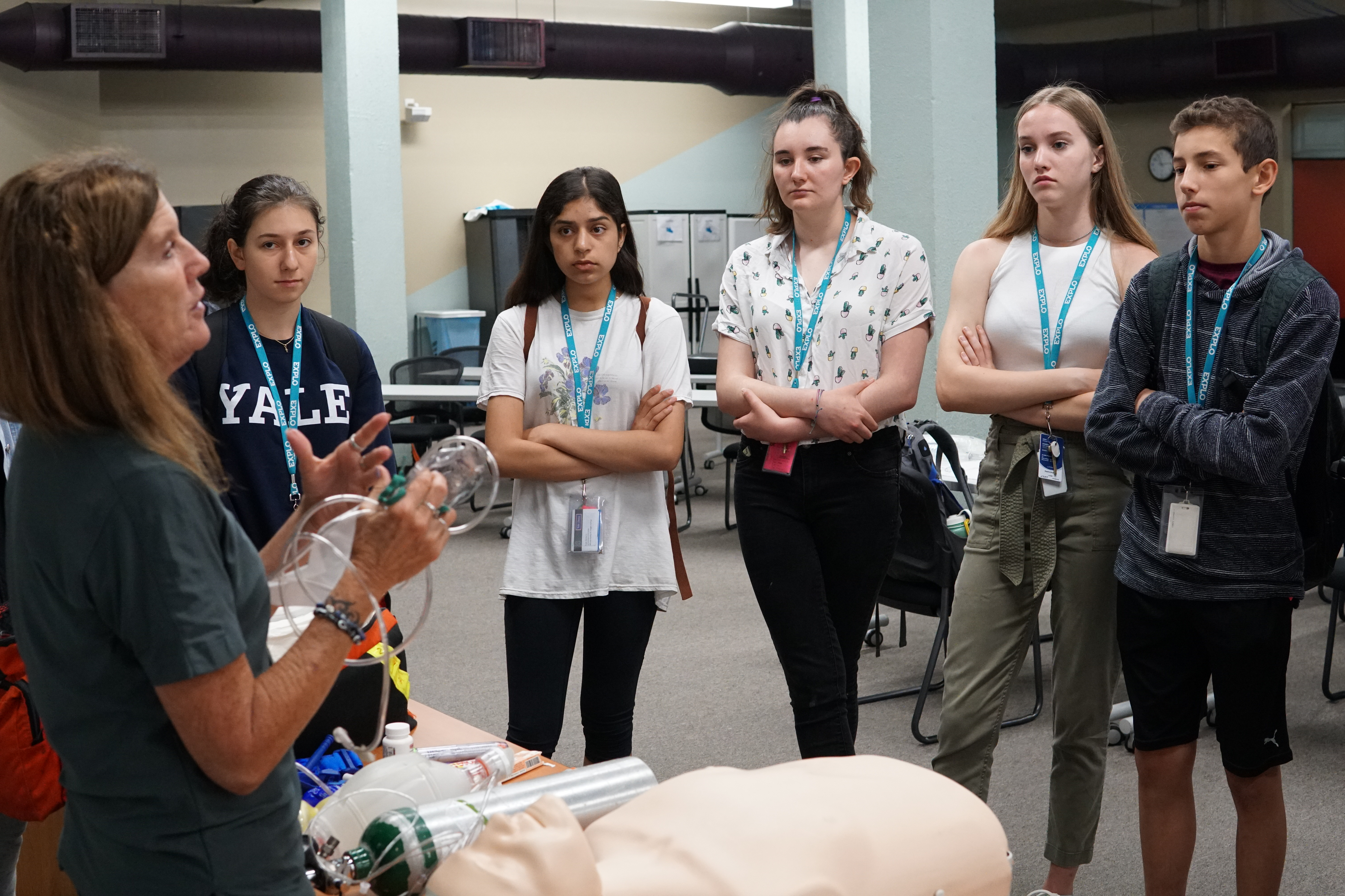 Trip: Yale New Haven Hospital Center for EMS