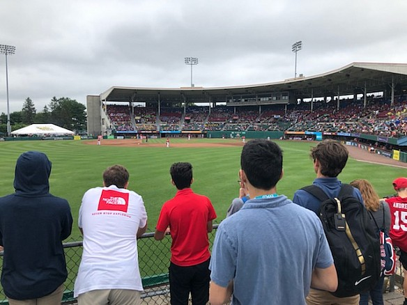 Sports Management: Paw Sox Game + Stadium Tour
